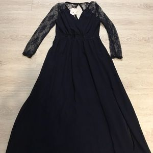 Black Wei Xiao long dress. New with tags